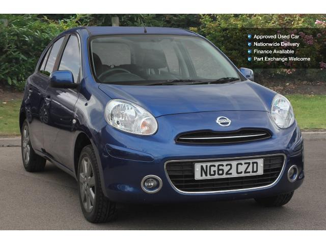 book a used nissan micra 1 2 elle 5dr petrol hatchback. Black Bedroom Furniture Sets. Home Design Ideas
