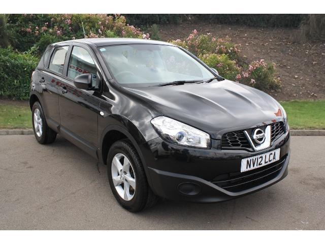 used nissan qashqai 1 5 dci 110 visia 5dr diesel. Black Bedroom Furniture Sets. Home Design Ideas