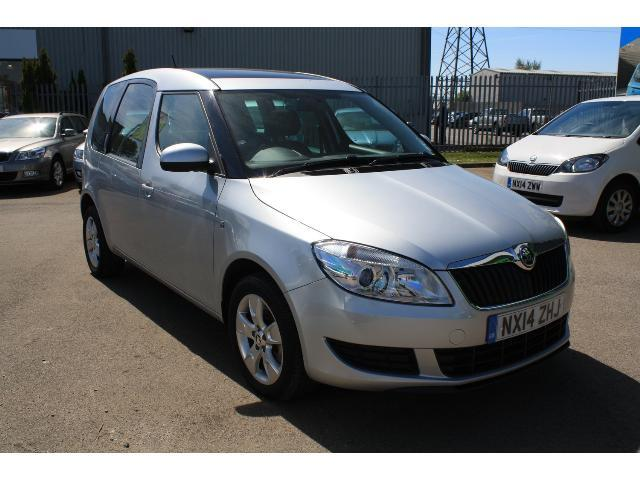 used skoda roomster 1 6 tdi cr 105 se 5dr diesel estate for sale bristol street motors. Black Bedroom Furniture Sets. Home Design Ideas