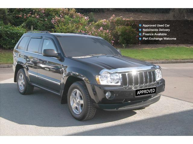 used jeep grand cherokee 3 0 crd limited 5dr auto diesel station wagon. Cars Review. Best American Auto & Cars Review