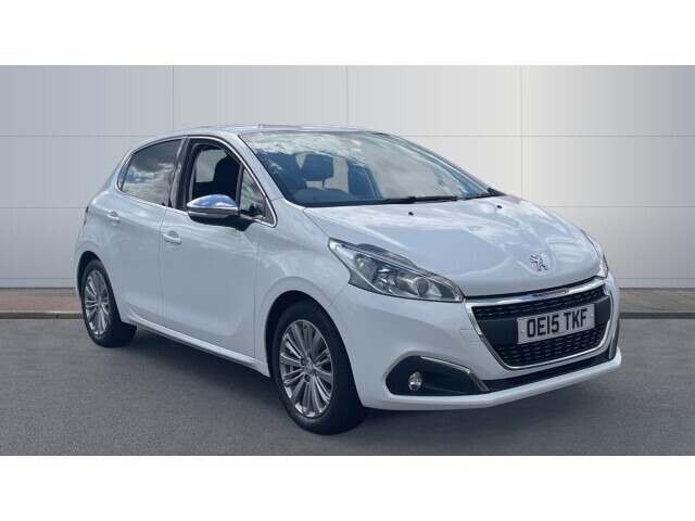 used peugeot 208 1 2 puretech 82 allure 5dr petrol hatchback for sale bristol street motors. Black Bedroom Furniture Sets. Home Design Ideas