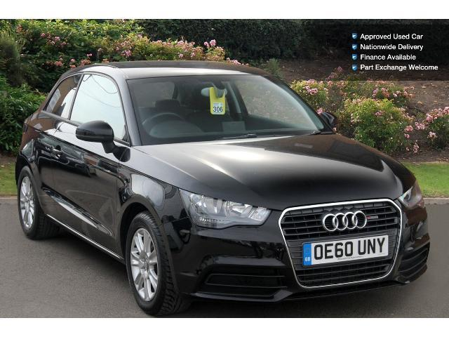 used audi a1 1 6 tdi se 3dr diesel hatchback for sale. Black Bedroom Furniture Sets. Home Design Ideas