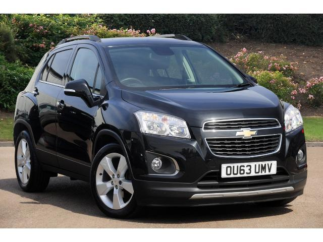 used chevrolet trax 1 6 lt 5dr petrol hatchback for sale bristol street motors. Black Bedroom Furniture Sets. Home Design Ideas