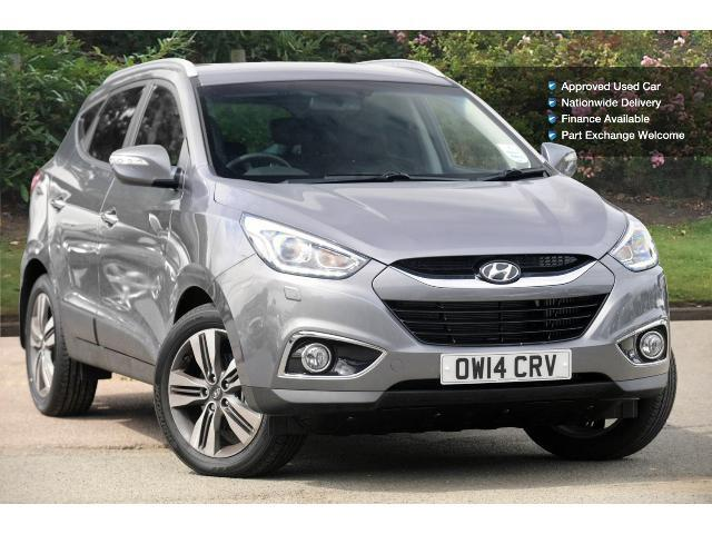 used hyundai ix35 1 7 crdi premium 5dr leather 2wd diesel estate for sale bristol street motors. Black Bedroom Furniture Sets. Home Design Ideas