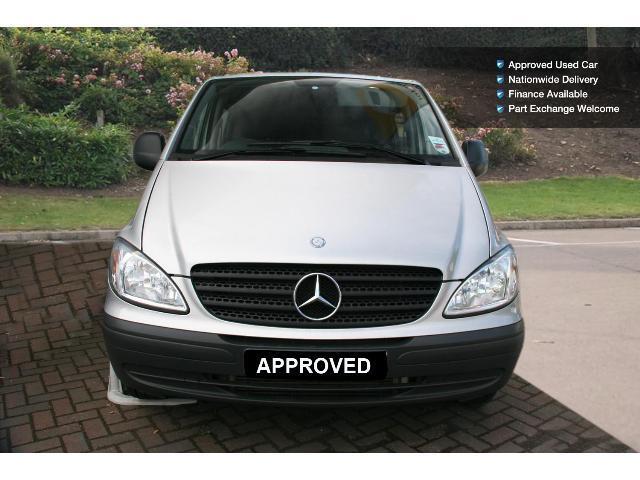 Used mercedes benz vito long diesel 111cdi van for sale for Mercedes benz vito vans for sale
