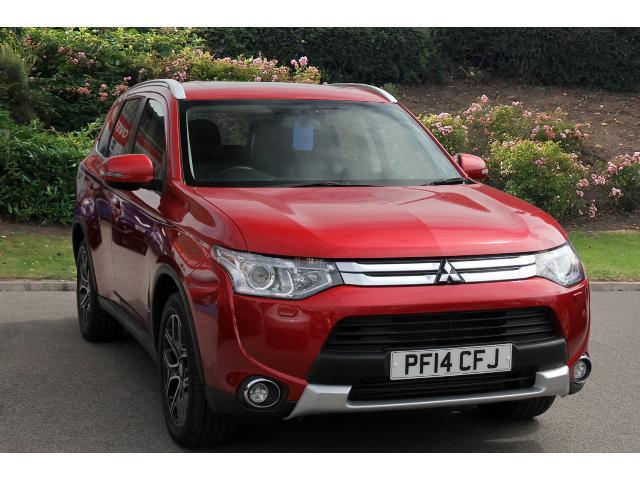 used mitsubishi outlander 2 2 di d gx4 5dr diesel estate for sale bristol street motors. Black Bedroom Furniture Sets. Home Design Ideas
