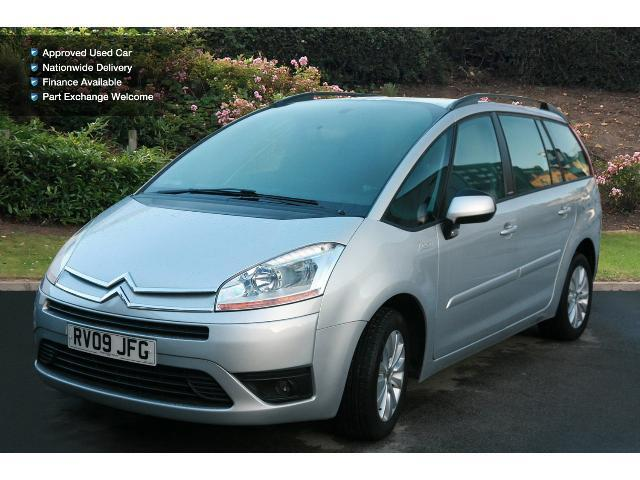 book a used citroen c4 grand picasso 1 6 16v vti vtr plus. Black Bedroom Furniture Sets. Home Design Ideas