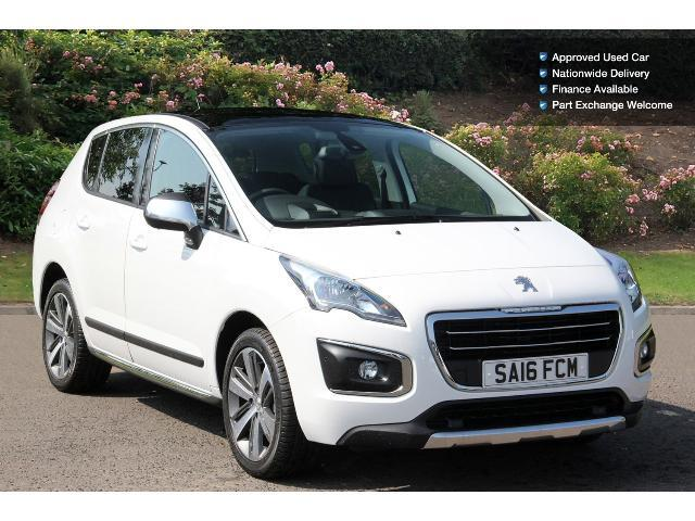 used peugeot 3008 1 6 bluehdi 120 allure 5dr eat6 diesel. Black Bedroom Furniture Sets. Home Design Ideas