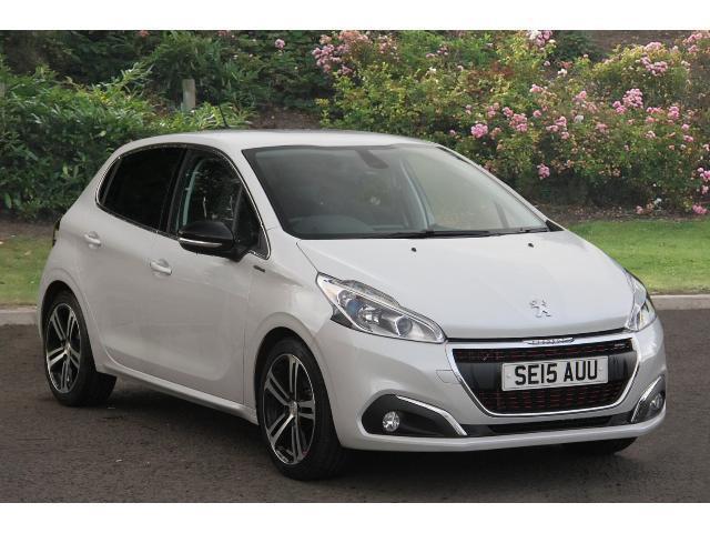 used peugeot 208 1 2 puretech 110 gt line 5dr petrol. Black Bedroom Furniture Sets. Home Design Ideas