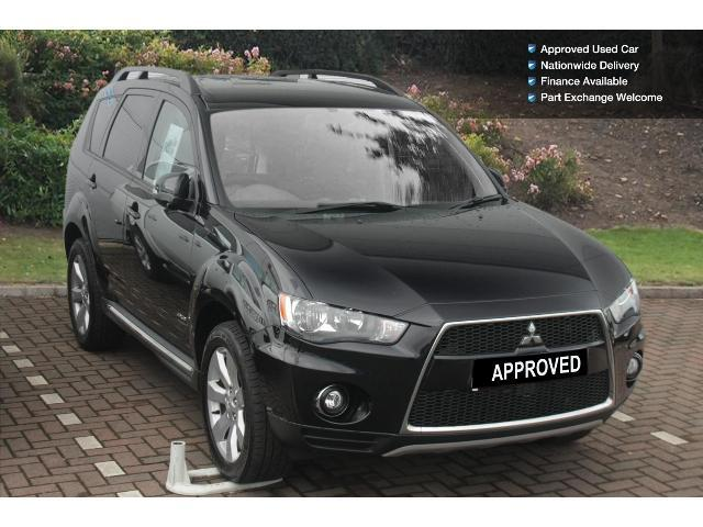 used mitsubishi outlander 2 2 di d gx3 5dr 2wd diesel estate for sale bristol street motors. Black Bedroom Furniture Sets. Home Design Ideas