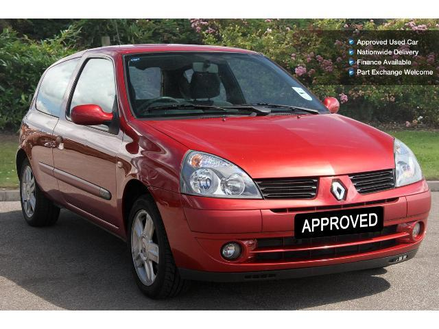used renault clio 1 2 16v campus sport 3dr petrol hatchback for sale bristol street motor nation. Black Bedroom Furniture Sets. Home Design Ideas