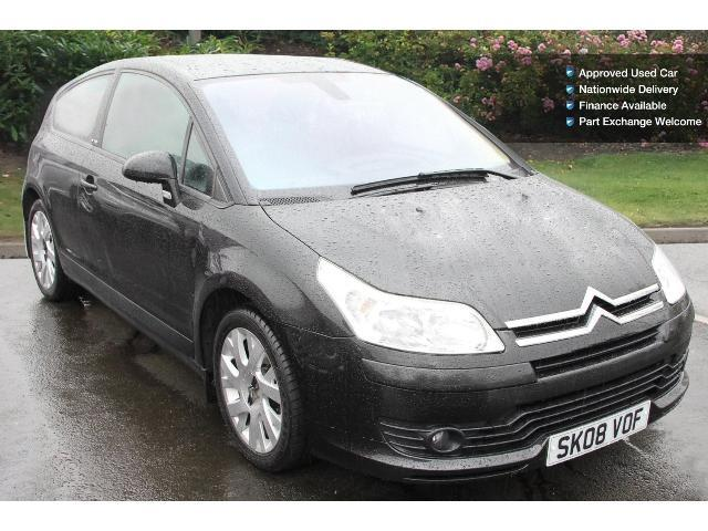 used citroen c4 1 6hdi 16v vtr plus 110 3dr diesel coupe for sale bristol street motors. Black Bedroom Furniture Sets. Home Design Ideas