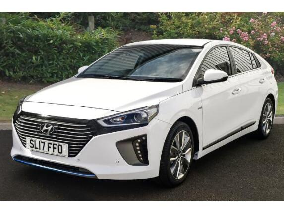 used hyundai ioniq 1 6 gdi hybrid premium se 5dr dct hybrid hatchback for sale bristol street. Black Bedroom Furniture Sets. Home Design Ideas
