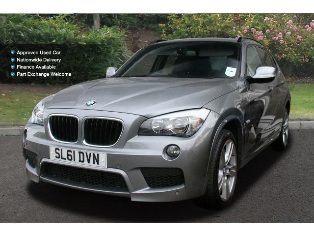 used bmw x1 xdrive 20d m sport 5dr step auto diesel estate. Black Bedroom Furniture Sets. Home Design Ideas