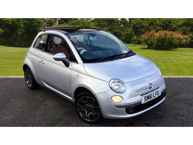 Fiat 500 1.4 Lounge 2Dr [start Stop] Petrol Convertible