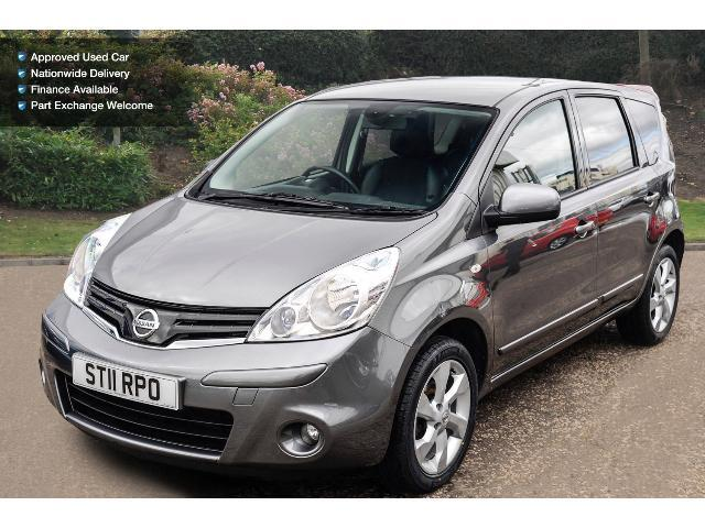used nissan note 1 6 tekna 5dr petrol hatchback for sale bristol street motors. Black Bedroom Furniture Sets. Home Design Ideas