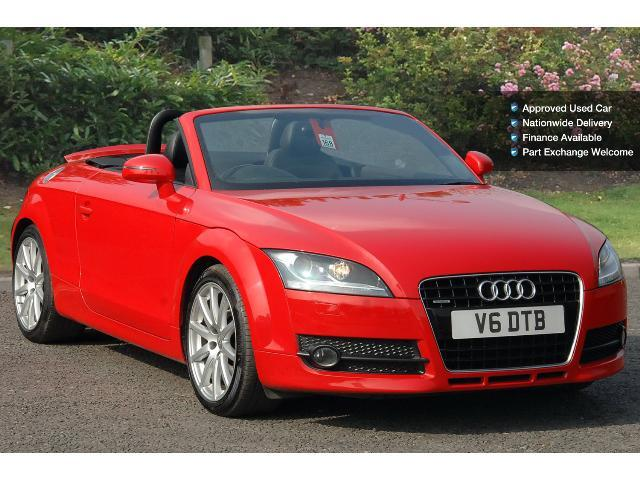 used audi tt 3 2 v6 quattro 2dr petrol roadster for sale bristol street motors. Black Bedroom Furniture Sets. Home Design Ideas