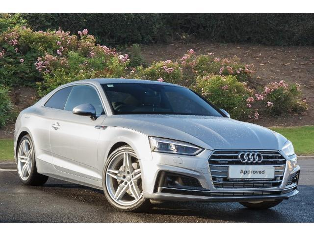 used audi a5 3 0 tdi quattro s line 2dr s tronic diesel coupe for sale bristol street motors. Black Bedroom Furniture Sets. Home Design Ideas