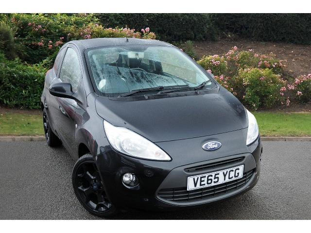 used ford ka 1 2 zetec black edition 3dr petrol hatchback for sale bristol street motors. Black Bedroom Furniture Sets. Home Design Ideas