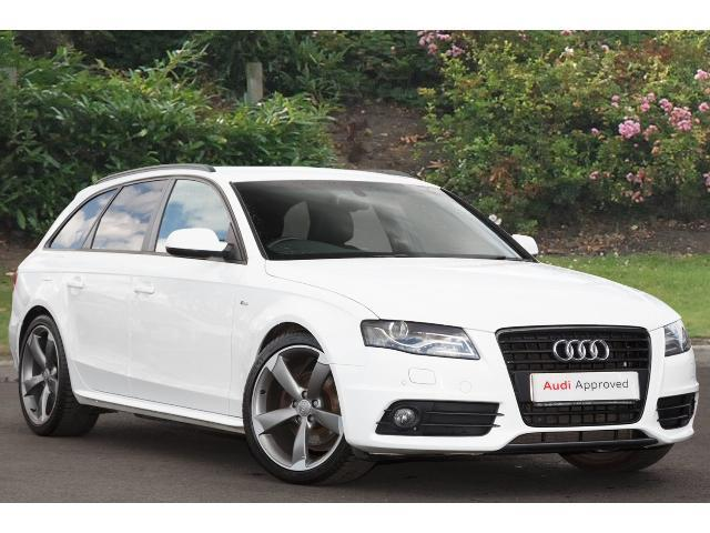 used audi a4 2 0 tdi 136 black edition 5dr start stop diesel estate for sale bristol street. Black Bedroom Furniture Sets. Home Design Ideas