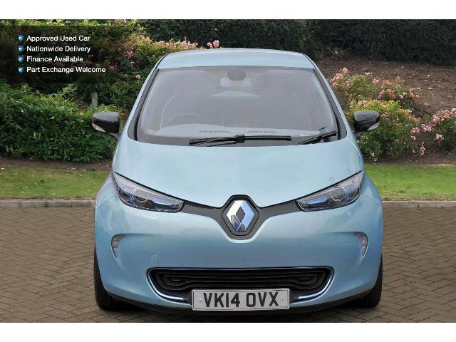 used renault zoe dynamique intens 5dr auto electric. Black Bedroom Furniture Sets. Home Design Ideas