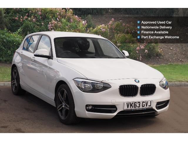 used bmw 1 series 114i sport 5dr petrol hatchback for sale bristol street motors. Black Bedroom Furniture Sets. Home Design Ideas