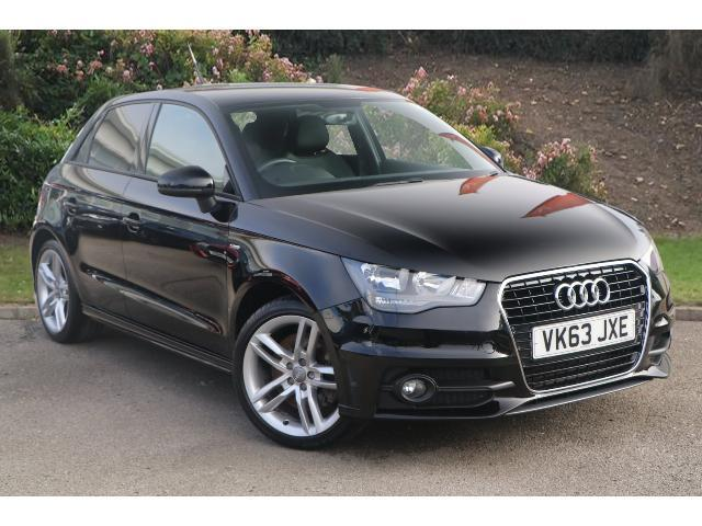 used audi a1 1 4 tfsi 185 s line 5dr s tronic petrol. Black Bedroom Furniture Sets. Home Design Ideas