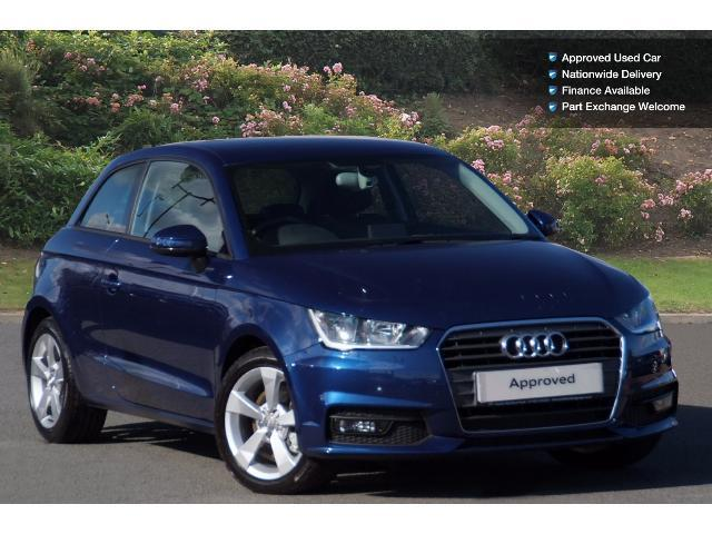 used audi a1 1 6 tdi sport 3dr s tronic diesel hatchback for sale bristol street motors. Black Bedroom Furniture Sets. Home Design Ideas