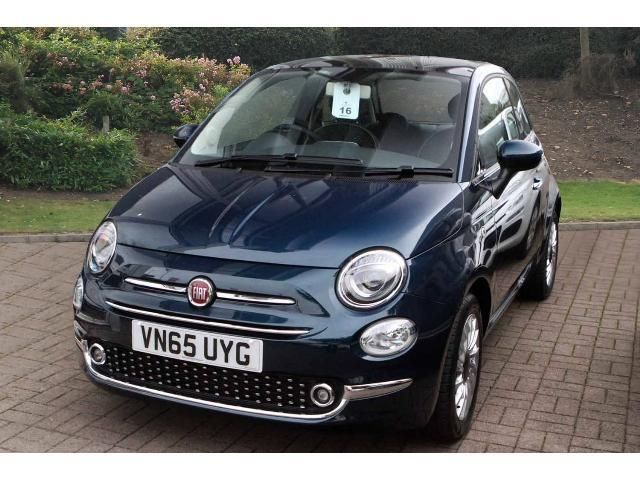 used fiat 500 1 2 lounge 3dr dualogic petrol hatchback for sale bristol street motors. Black Bedroom Furniture Sets. Home Design Ideas