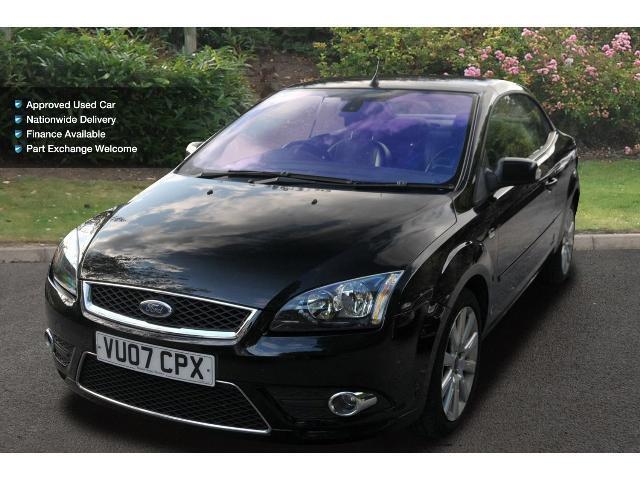 used ford focus cc 2 0 cc 3 2dr petrol cabriolet for sale bristol street motors. Black Bedroom Furniture Sets. Home Design Ideas