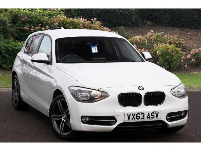 used bmw 1 series 114d sport 5dr diesel hatchback for sale bristol street motors. Black Bedroom Furniture Sets. Home Design Ideas