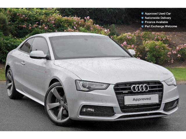 Used audi a5 3 0 tdi 245 quattro black edition 2dr s - Audi a5 coupe 3 0 tdi quattro s line special edition ...