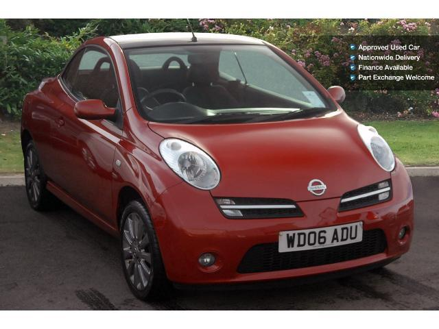 used nissan micra c c 1 6 sport 2dr petrol cabriolet for. Black Bedroom Furniture Sets. Home Design Ideas