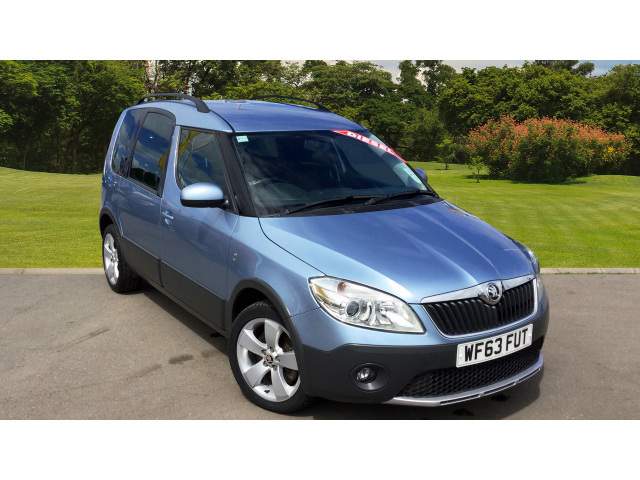 enquire on a used skoda roomster 1 6 tdi cr scout 5dr diesel estate bristol street motors. Black Bedroom Furniture Sets. Home Design Ideas