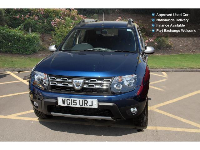 used dacia duster 1 5 dci 110 laureate prime 5dr 4x4. Black Bedroom Furniture Sets. Home Design Ideas