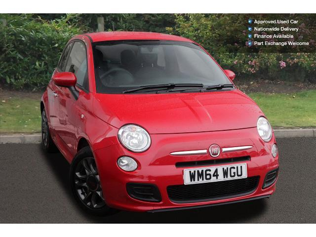 used fiat 500 1 2 s 3dr dualogic petrol hatchback for sale bristol street motors. Black Bedroom Furniture Sets. Home Design Ideas