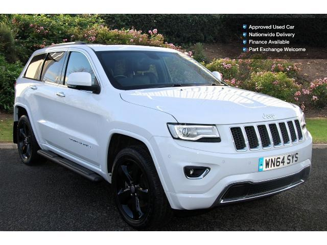 used jeep grand cherokee 3 0 crd overland 5dr auto diesel station wagon for sale bristol. Black Bedroom Furniture Sets. Home Design Ideas