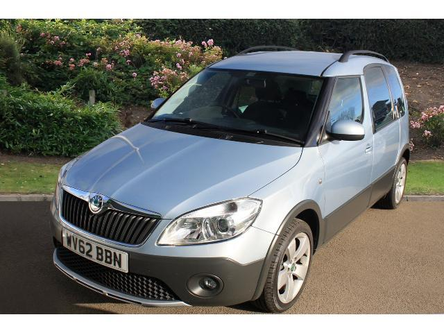used skoda roomster 1 6 tdi cr 105 scout 5dr diesel estate for sale bristol street motors. Black Bedroom Furniture Sets. Home Design Ideas