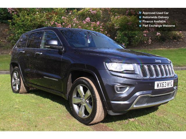 used jeep grand cherokee 3 0 crd overland 5dr auto diesel. Black Bedroom Furniture Sets. Home Design Ideas