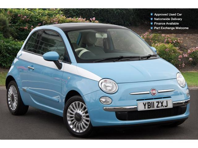 Used Fiat 500 1 2 Lounge 3dr Start Stop Petrol Hatchback