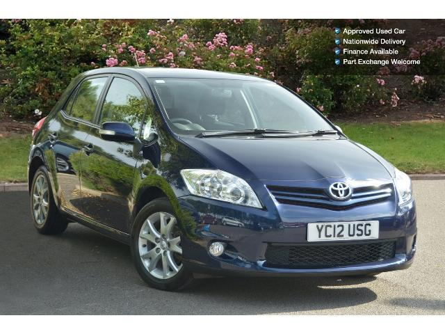 used toyota auris 1 6 v matic colour collection 5dr petrol hatchback for sale bristol street. Black Bedroom Furniture Sets. Home Design Ideas