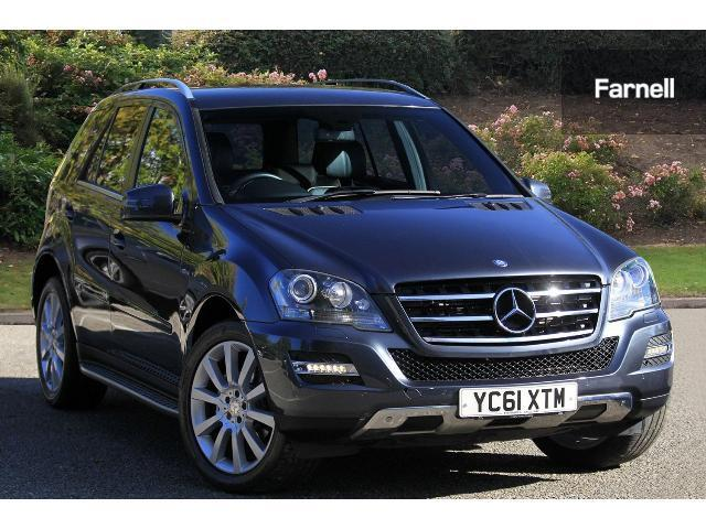 Used mercedes benz m class ml350 cdi blueefficiency grand for Used mercedes benz station wagon