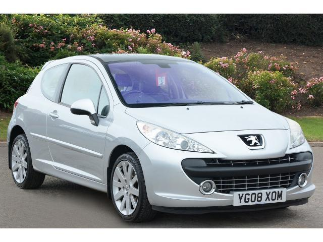 used peugeot 207 1 6 16v gt thp 150 3dr petrol hatchback for sale bristol street motors. Black Bedroom Furniture Sets. Home Design Ideas