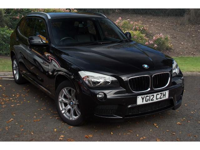 used bmw x1 xdrive 18d m sport 5dr diesel estate for sale bristol street motors. Black Bedroom Furniture Sets. Home Design Ideas