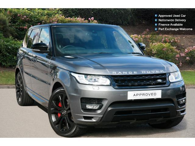 Enquire On A Used Land Rover Range Rover Sport 5 0 V8 S C