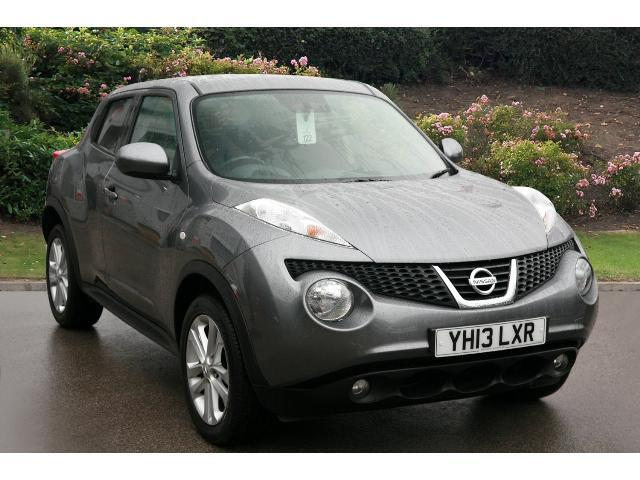 used nissan juke 1 6 acenta 5dr cvt premium pack petrol. Black Bedroom Furniture Sets. Home Design Ideas