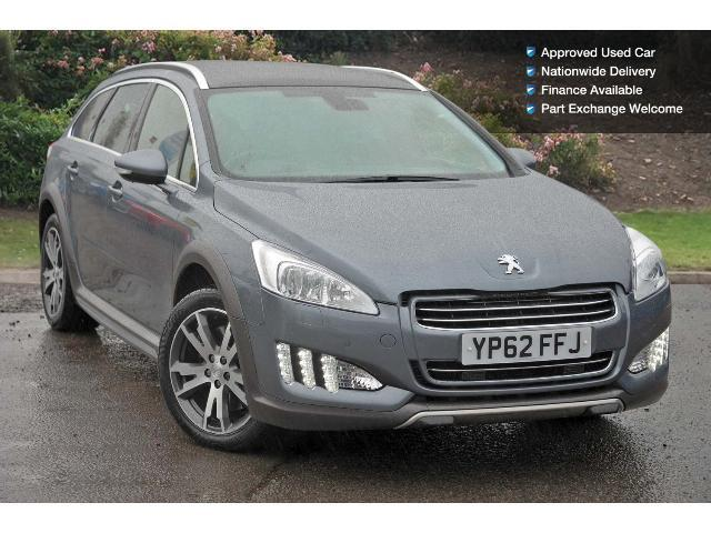 used peugeot 508 rxh 2 0 e hdi hybrid4 5dr egc diesel. Black Bedroom Furniture Sets. Home Design Ideas