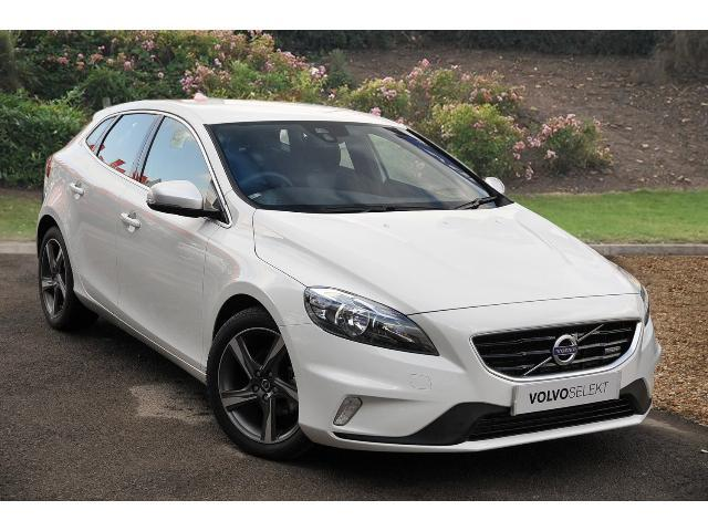 used volvo v40 d2 r design 5dr diesel hatchback for sale. Black Bedroom Furniture Sets. Home Design Ideas