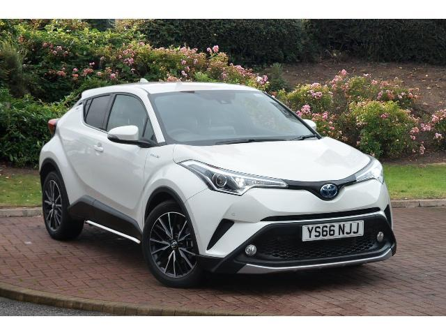 Used Toyota C-HR 1.8 Hybrid Excel 5Dr Cvt Hybrid Hatchback for Sale | Bristol Street Motors
