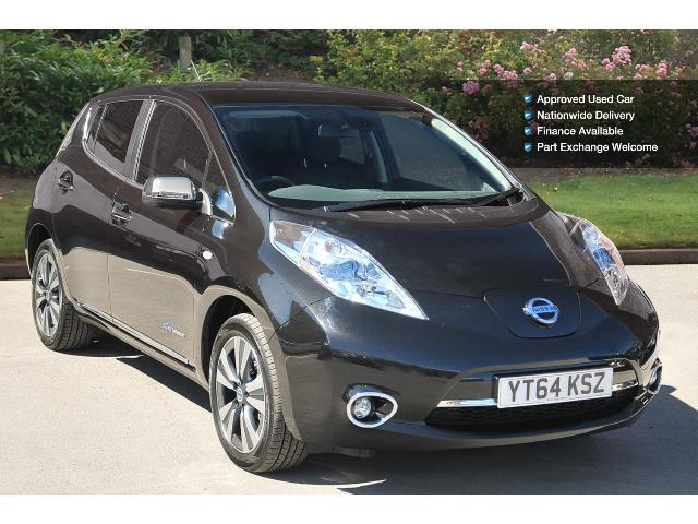 used nissan leaf tekna 5dr auto electric hatchback for. Black Bedroom Furniture Sets. Home Design Ideas